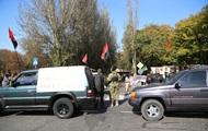 Неизвестные с символикой Правого сектора заблокировали Запорожсталь