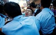 В Гонконге начались задержания демонстрантов