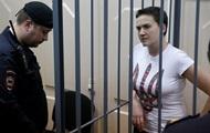 Надежду Савченко из-за голодовки поместили в камеру-одиночку
