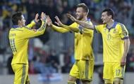Сборная Украины отправилась на матч с Испанией в Севилью