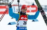 Валя Семеренко получила цветы на этапе Кубка мира в Ханты-Мансийске