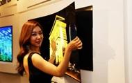 LG показала первый в мире телевизор толщиной менее миллиметра