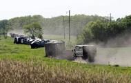 Reuters показал колонну российской военной техники возле украинской границы