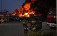 На нефтебазе под Киевом произошел прогнозируемый взрыв цистерн – ГосЧС