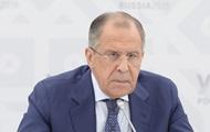 Лавров ответил на слова Порошенко о России-агрессоре