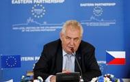 Президент Чехии призвал готовиться к волне мигрантов из Украины