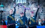 Украинские лучницы выиграли чемпионат мира
