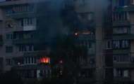В Киеве ночью горела девятиэтажка