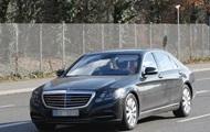 Фотошпионы рассекретили обновленный Mercedes-Benz S-класса