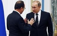 Олланд и Путин обсуждали отмену санкций против РФ