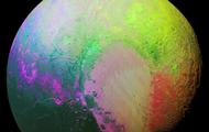 Психоделия на Плутоне. NASA опубликовало новое фото