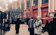 В Киеве на Подоле горела Пузата хата