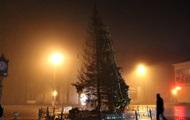 На Буковине дотла сгорела новогодняя елка