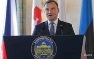 Президент Польши Дуда впервые посетит Украину