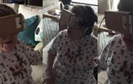 Реакция 88-летней бабушки на очки виртуальной реальности стала хитом Сети