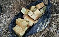 СБУ обнаружила два тайника с взрывчаткой и оружием в зоне АТО
