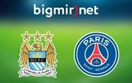 Манчестер Сити - ПСЖ 0:0 Онлайн трансляция матча Лиги чемпионов