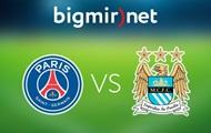 ПСЖ - Манчестер Сити 1:1 Онлайн трансляция матча Лиги чемпионов