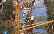 В Китае рухнул кран: погибли 18 человек