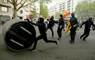 В Париже произошли столкновения на акции протеста