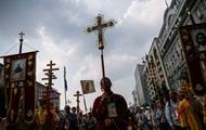 В УПЦ насчитали 100 тысяч участников Крестного хода