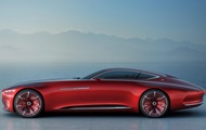 Представлен концепт электромобиля Mercedes-Maybach