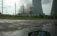 В Киеве из-за взрыва загорелись гаражи