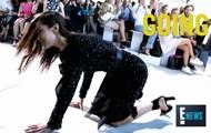 Белла Хадид упала во время дефиле на Неделе моды