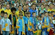 Сборная Украины проведет открытую тренировку на НСК Олимпийский