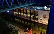 В Германии корабль врезался в мост, есть жертвы
