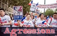 В Париже прошла демонстрация в поддержку китайской общины