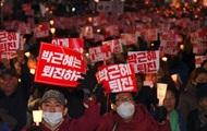 В Южной Корее тысячи требуют отставки президента