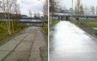 В России отремонтировали дорогу с помощью Photoshop