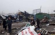 В Киеве бульдозерами снесли очередной рынок