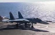 В Минобороны РФ опровергли сообщения о причинах аварии Су-33