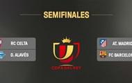 Кубок Испании: Атлетико сыграет с Барселоной в 1/2 финала