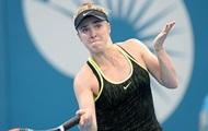 Свитолина снялась с турнира в Сиднее