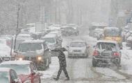 Из-за снегопада Киев стоит в 10-бальнных пробках