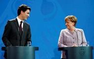 Меркель и Трюдо обсудили мощную поддержку Украины