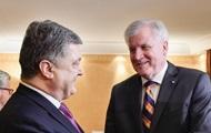 Порошенко провел встречу с премьер-министром Баварии