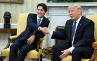 Трамп впервые встретился с премьером Канады