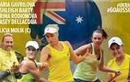 Украина и Австралия объявили составы на матч Кубка Дэвиса