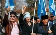 В Турции татары протестовали против аннексии Крыма