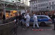 Водитель с ножом наехал на прохожих в Германии