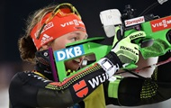 Биатлон: Далмайер победила в гонке преследования, Джима - седьмая