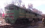 Блокада Донбасса: полиция освободила поезд