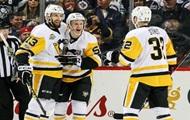 НХЛ: Питтсбург одержал результативную победу над Виннипегом, Бостон разгромил Детройт