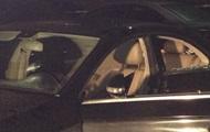 Появилось видео с места расстрела авто в Киеве