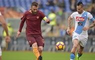Серия А: Рома дома уступила Наполи, Милан обыграл Кьево