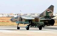 Сирийский истребитель рухнул в Турции